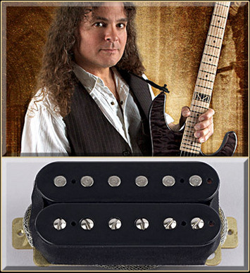 Vinnie Moore Bridge BK/BK F Spaced picture