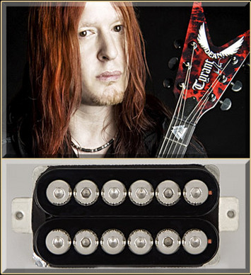 Michael Amott Tyrant Bridge BK/BK picture