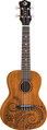 Ukulele Concert Tattoo Mahogany w/gigbag