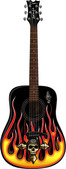 Bret Michaels Player Acoustic Guitar