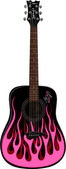 Bret Michaels JORAINE Acoustic Guitar
