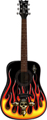 Bret Michaels Player Acoustic Guitar