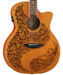 Henna Paradise Acoustic/Electric Cedar additional picture 1