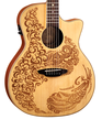 Henna Paradise Acoustic/Electric Spruce additional picture 1
