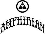 Amphibian. Womens Logo Series. 70's Arch