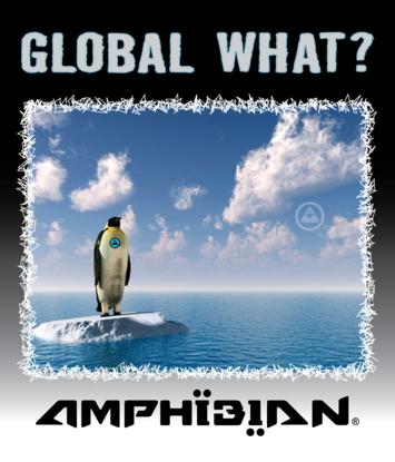 Amphibian. Mens Blue Revolt Series. Penguin. Global What? picture