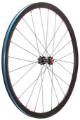 Halo Devaura 6-Drive 700c Wheel - Front -- black