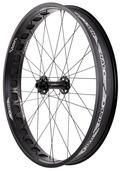 "Halo Tundra 26"" FatBike Wheel - Front - black"