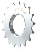 Gusset Double Six Cog - 17 tooth