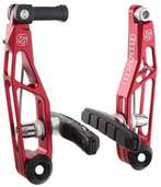 Gusset Boom Linear Brake - front or rear - red