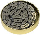 Gusset MX Chain, 3/32 - chrome/grey