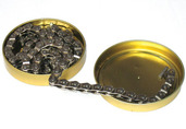 Gusset Slink Chain, 3/32 - chrome