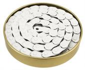 "Gusset Slink Chain 1/8"" - white"