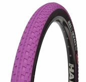 """Twin Rail 26"""" x 2.2"""" Tire – purple"""