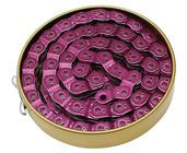 Gusset Slink Chain, 3/32 - translucent purple