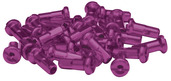 14 Gauge Nipples - purple (bag/50)