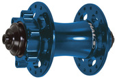 Spin Doctor 6F disc front hub - 32h - blue