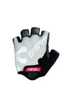 GRIPPP Tour White Short Finger Kangaroo Leather Cycling Gloves (Medium/8)