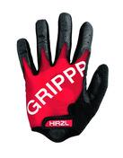 GRIPPP Tour Red Full Finger Kangaroo Leather Cycling Gloves (Medium/8)