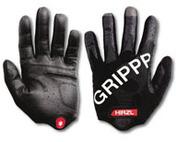 GRIPPP Tour Full Finger Kangaroo Leather Cycling Gloves (Medium/8)