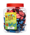 Foam Fun Lowercase Red & Blue Magnet Letters, Set of 112