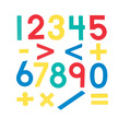 Foam Fun Magnet Numbers, Set of 80 additional picture 2