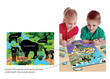 Magnetic Wildlife Map Puzzle: North & South America additional picture 1