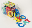 Foam Fun Uppercase Magnet Letters (4-color), Set of 58 additional picture 2