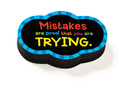 Magnetic Whiteboard Eraser: Mistakes Quote