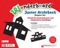 Wonderboard Junior Architect Magnet Set