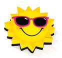 Magnetic Whiteboard Eraser: Sun