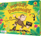 Monkey Dominoes Magnetic Dominoes Game