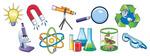 Science Pics Magnet Set