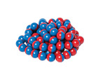 North/South Magnet Marbles, Set of 100