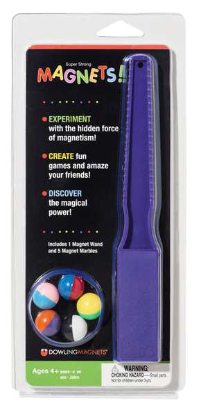 Magnet Wand & 5 Magnet Marbles picture