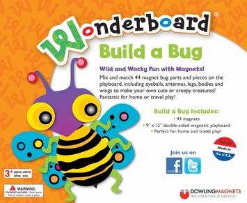 Wonderboard Build a Bug Magnet Set picture