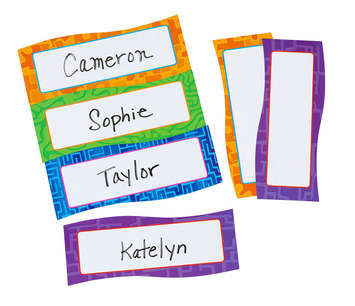 Magnetic Name Plates, Set of 20 picture