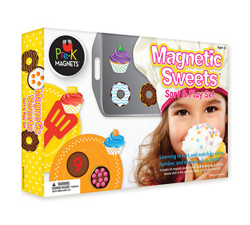 Magnetic Sweets Sort and Play  Set picture