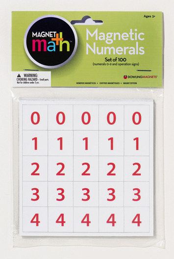 Magnetic Numerals, Set of 100 picture