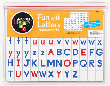 Fun with Letters Magnet Activity Set picture