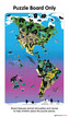 Magnetic Wildlife Map Puzzle: North & South America additional picture 5
