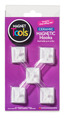 Ceramic Magnetic Hooks, Set of 5