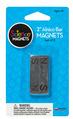 """Alnico Bar Magnets (2""""), N/S Stamped, Set of 2"""