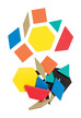 Foam Fun Magnet Pattern Blocks, Set of 200 additional picture 2