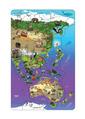 Magnetic Wildlife Map Puzzle: Asia & Australia