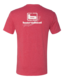Large - Red - Active Fit S/S Tee