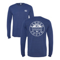 Large - Navy - Banded South L/S Tee