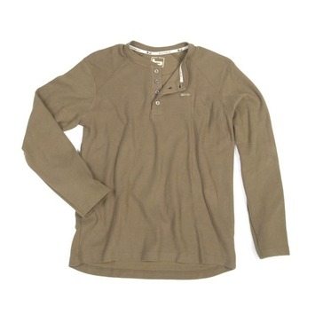 Small - Spanish Moss - Thermal Workman Henley picture