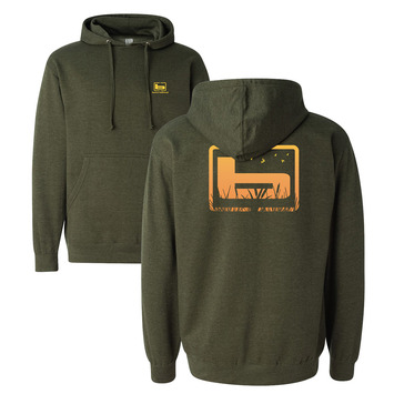XL - Army Green - Cattail  Hoodie picture