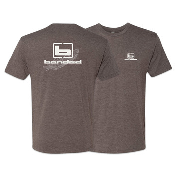 Large - Brown - Active Fit S/S Tee picture